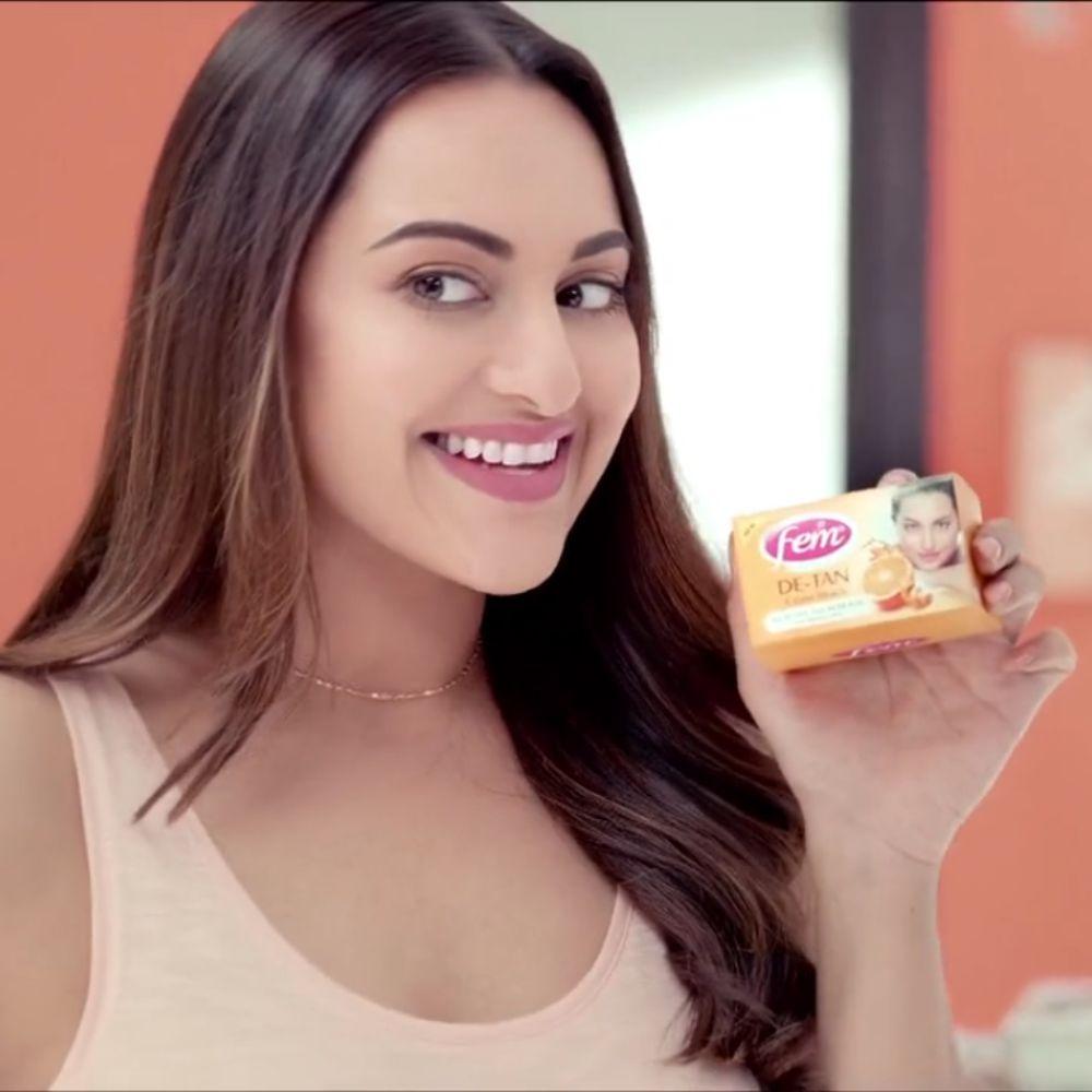Fem De-Tan Creme Bleach - Sonakshi Sinha